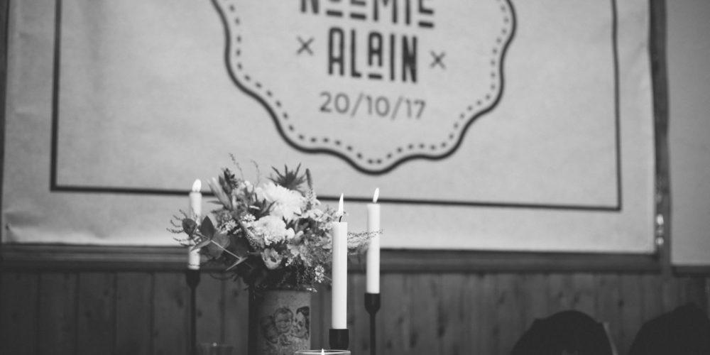 Le Mariage «Brocante et Rock'n Roll» de Noémie & Alain